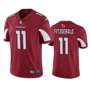 Cardinals Larry Fitzgerald Red Jersey